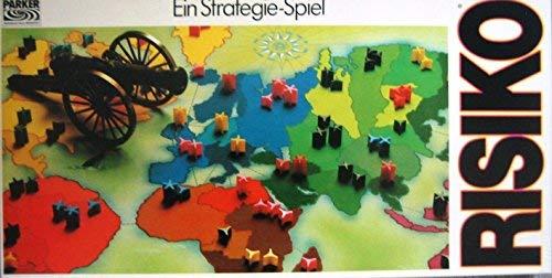 Risiko - Ein Strategiespiel. Das Brettspiel (Erscheinungsjahr 1982)