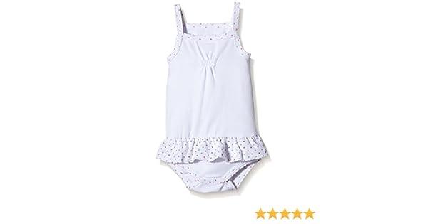 Noukies Z636182 - Combinaison - Uni - Bébé fille - Blanc - FR  3 mois  (Taille fabricant  3 mois)  Amazon.fr  Vêtements et accessoires 8c57eef9b69