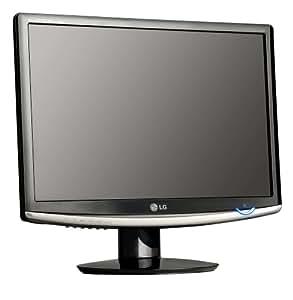 "LG W2252V-PF Ecran PC LCD 22"" Flatron 16/10 1680 x 1050 10 000:1 2 ms Noir laqué"