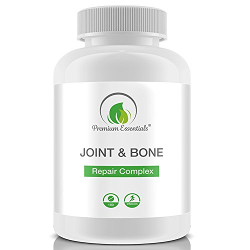 Glucosamin Komplex Tabletten (Joint & Bone Repair Complex, 180 Tabletten, Tagesportion á 2440 mg, Mit Glucosamin + Chondroitin + MSM + Vitamin C)