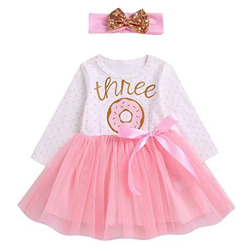 Infant Baby Mädchen Brief Bänder Bow Tutu Rock Hairband Schwester Kleidung ()
