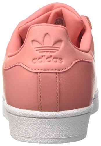 adidas Superstar Metal Toe, Scarpe da Ginnastica Basse Donna Rosa (Tactile Rose/tactile Rose/footwear White)