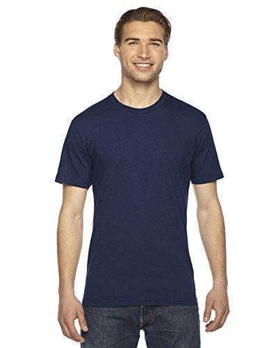 American Apparel-Fine a maniche corte T-shirt da donna Navy/2x l