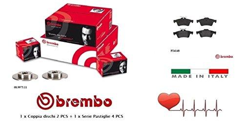 08997511-P24148 Kit Dischi e Pastiglie Freno Posteriori Brembo
