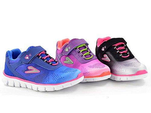 Foster Footwear , Baskets mode pour fille Rose
