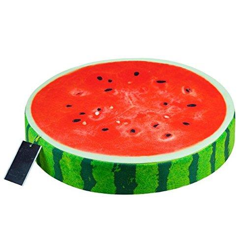 Creative 3d frutta cuscino per appoggiato su di personalità anguria giocattoli di peluche kiwi cuscini sul divano cuscino un regalo di compleanno, melon, 38 x 6 cm