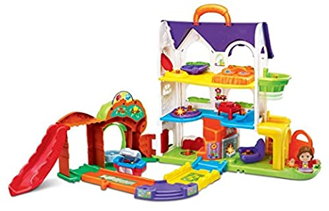 Vtech – Toot Toot Friends – Busy Sounds Discovery Home – Ma Grande Maison Magique Tut Tut Copains Version Anglaise
