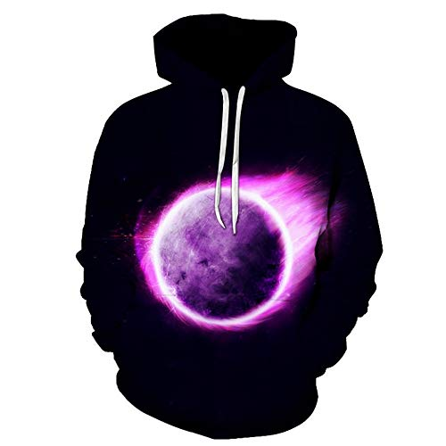 Link Katze Kostüm - QVQV Unisex 3D Druck Hoodie Kapuzenpullover Bunt Langarm Winter Pullover Sweatshirt