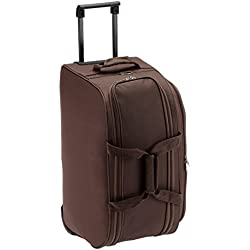Safari Revv Polyester 55 cms Brown Softsided Travel Duffle(Revv 55 Brown RD)