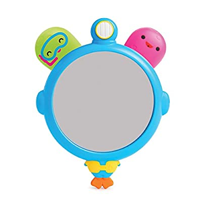 Munchkin See and Squirt Mirror Set Bath Toy