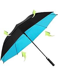 KOLER Golf Regenschirm Winddicht 158 cm Übergröße, Doppelt Bespannter Schirm, Auf zu Automatik, Wasser & Sonnenfest, Extra Großer Stockschirm