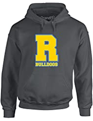 Brand88 - Bulldogs, Adult's Gedruckt Hoody - Pullover