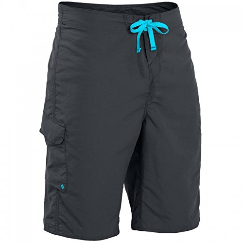 Jet Nylon Shorts (Palm Kayak oder Kayaking - Skyline Board Segeln Bootfahren Wassersport Shorts Jet Grey - Material: Nylon 6-Stoff)