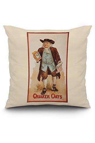 quaker-oats-vintage-poster-usa-c-1897-20x20-spun-polyester-pillow-case-white-border