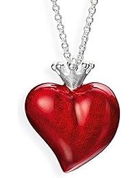 Heartbreaker Damen- Herzanhänger Crown of my Heart mit Brandlack LD LP 32 RM II