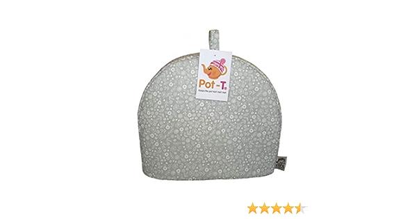 x26cm Pot-T/® INSULATED Tea Cosy Cozy in Doodle Ditsy Grey 31.5cm d x10cm w h Maxi