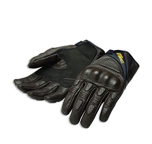 Ducati 98104219 - Guanti da moto Scrambler Alpinestars, in pelle, DAYTONA C1
