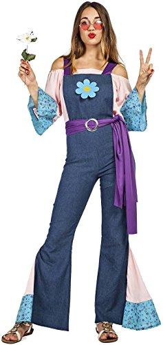 Imagen de disfraz hippie flor mujer talla xl tamaño adulto