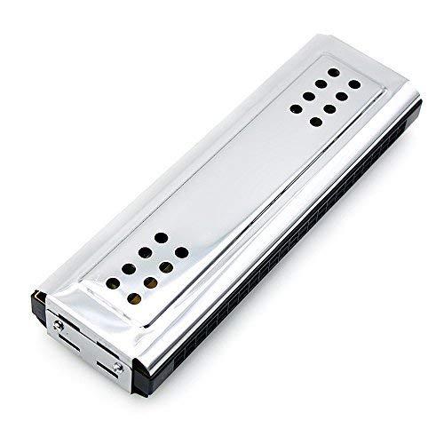 2-in-1 tremolo armonica bocca organo chiave dural di c & g 24 fori doppie con 48 ance libero strumento di vento di reed con scatola imbottita panno di pulizia