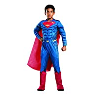Rubie´s Deluxe Child Dawn of Justice Superman Fancy Dress Costume