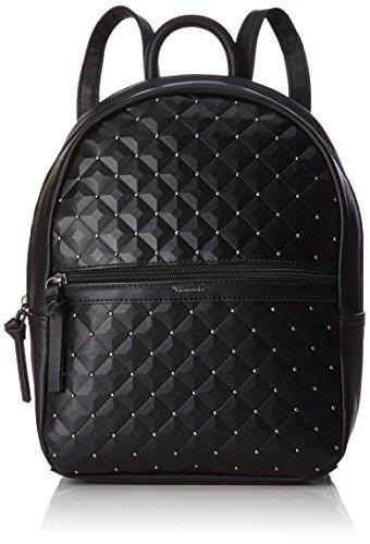 Tamaris Damen Aura Backpack Rucksackhandtasche, Schwarz (Black), 13x32x24 cm