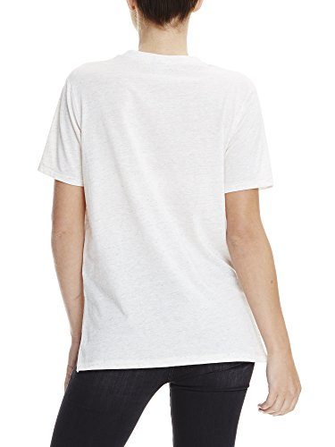 Bench Damen T-Shirt Corp Print Tee Rosa (Chalk Pink Marl MA1037)