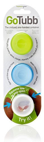 humangear-gotubb-3-pack-travel-container-clear-green-blue-small
