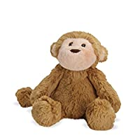 Manhattan Toy Lovelies Mocha Monkey Stuffed Animal, 15.24cm
