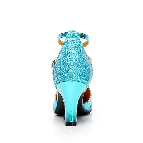 XPY&DGX La sala da ballo di ballo sala da ballo Softball tacco alto latino scarpe da ballo Ladies usura - 225MM
