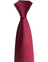 Zicac Männer Krawatte Business Tie Anzug Reißverschluss Krawatte
