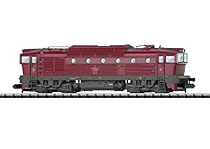 Märklin - T16731   - trix Locomotora diésel t478.3 CSD, vehículos