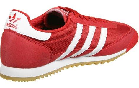 adidas Dragon Og, Scarpe da Ginnastica Basse Uomo rosso bianco