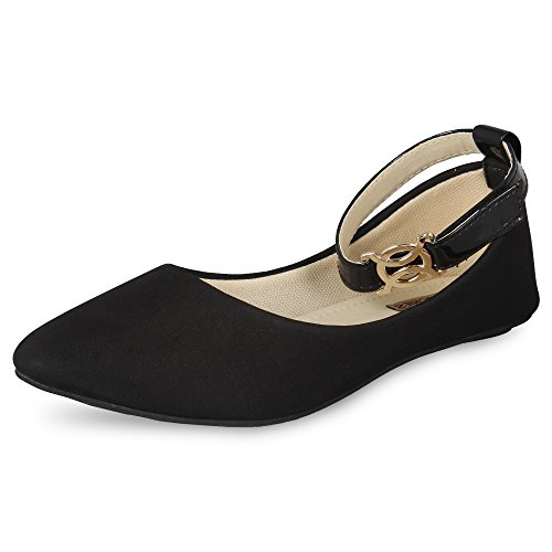ANAND ARCHIES Women's Bellies IPL-BLACK-37