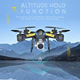 VIFLYKOO Drone for Beginners, Drone with HD Camera for Live Video to Play Inside / Outside 2.4G 6-Axis Headless Mode Treble-Stop 3D Flips for kids and beginners