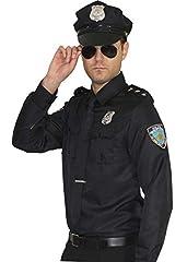 Idea Regalo - Maylynn 15145 - Costume da poliziotto, uniforme - nero - L -XL