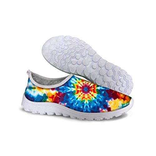 Mens Rainbow Resistant Zapatillas Deportivas Hombre Running Shoes C0736AA