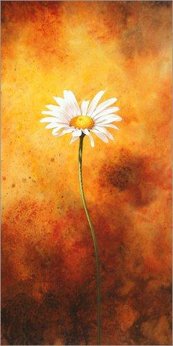 Poster 80 x 160 cm: Ochsenauge von John Francis/MGL Licensing - hochwertiger Kunstdruck, neues Kunstposter
