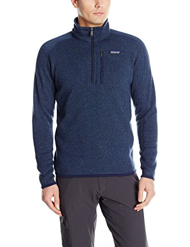 Patagonia Herren Jacke Better Sweater 1/4 Zip Fleece Classic Navy, L Classic Fleece