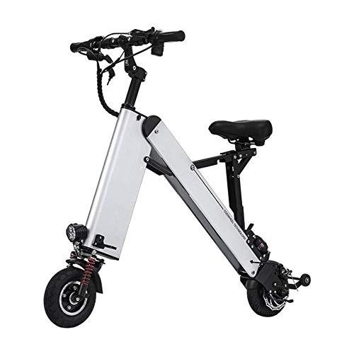 L&U Mini Faltbare 3-Rad Elektroroller 36V 250W, 10AH Lithium-Elektro-Dreirad Elektro-Fahrrad, K-Falten Smart Balance Auto, 20-25 Mile Range