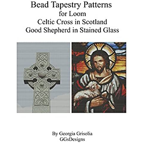 Bead Tapestry Patterns for Loom Celtic Cross