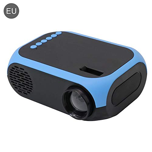Dough.Q Mini proiettore portatile Mini proiettore, Pico Projector, Home Projector, Android – WiFi Bluetooth 4.0 HDMI con collegamento diretto direttamente con il telefono – Mini proiettore LED per MUL