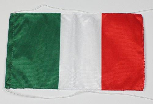 3 Stück Italien 15x25 cm Tischflagge einseitig bedruckt Tischfahne Dekoflagge Dekoration Dekofahne