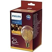 Philips Lighting Vintage Gold Lampadina LED Attacco E27, 5 W, Bronzo, 9.5x9.5x14.2 cm