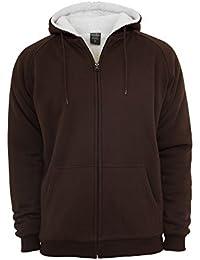 Urban Classics Winter Zip Sweats à capuche Black/E