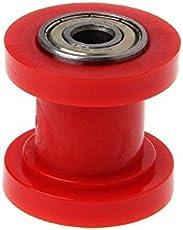 AST Works 10mm Red Chain Roller Pulley Tensioner Wheel Guide Dirt Bike XR125 CRF50 KLX110
