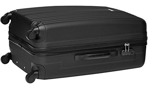 Packenger Line Koffer, Trolley, Hartschale  3er-Set in Schwarz, Größe M, L und XL - 8
