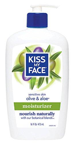 Kiss My Face Ultra Hydratant 0947028 Olive et Aloe - 16 fl oz