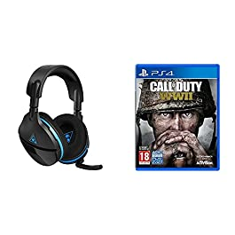Turtle Beach Stealth 600 Cuffie da Gaming Surround, PS4 + Call of Duty: WWII, PS4
