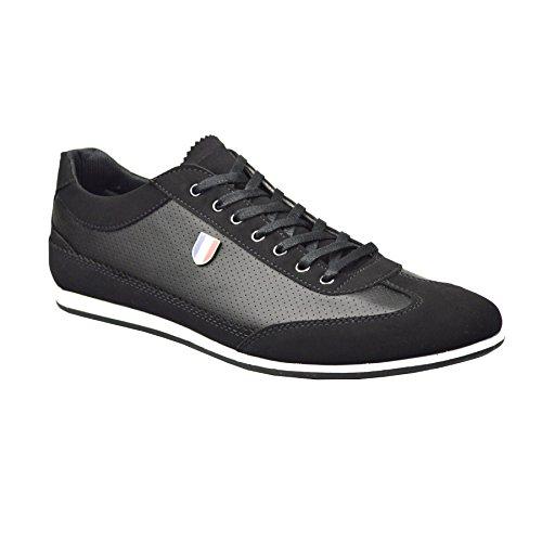 ClassyDude , Sneakers Basses garçon mixte adulte Noir