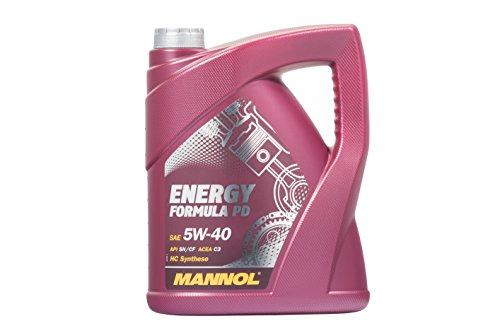 MANNOL Energy Formula PD 5W-40 API SN/SM/CF Motorenöl, 5 Liter